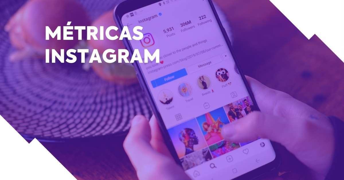 Veja mais sobre as métricas do Instagram